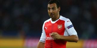 Former Arsenal midfielder Santi Cazorla now training with Alaves