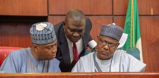 Senate President Bukola Saraki, his deputy Ike Ekweremadu and Speaker Yakubu Dogara are leaders of the 8th National Assembly
