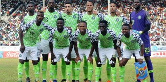 Super Eagles of Nigeria will face Burundi, Madagascar and Guinea at 2019 AFCON