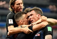 Croatia have progressed after beating Denmark on penalties