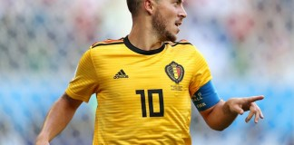 Eden Hazard scored twice to help Belgium beat Russia 3-1 in Euro 2020 qualifiers