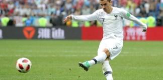 Fernando Muslera fumbled Antoine Griezmann strike as France took a 2-0 lead