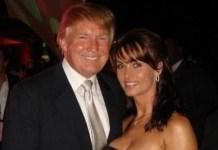 Playboy model Karen McDougal says she had an affair with President Donald Trump