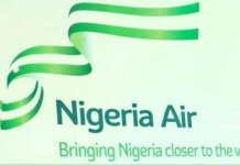 Hadi Sirika Minister of Aviation unveiled Nigeria's new national carrier, Nigeria Air