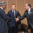 President Muhammadu Buhari and President Emmanuel Macron hold bilateral talks in Abuja