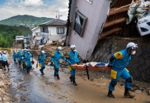 This is the worst death toll triggered by rains in Japan since 1982