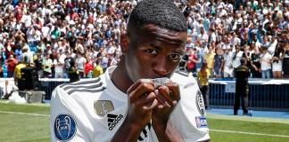 Vinicius Junior scored his first goal of the season