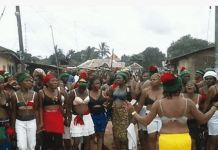 About 112 women who were detained in Owerri, Imo state capital have been released unconditionally