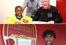 Alex Iwobi has signed a new four year deal at Arsenal