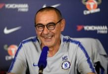Maurizio Sarri says Eden Hazard will remain at Chelsea this season