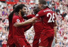 Mohamed Salah scored Liverpool's only goal as they beat Brighton 1-0