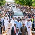 Presidency says President Muhammadu Buhari is ready for second term after walking 800 meters