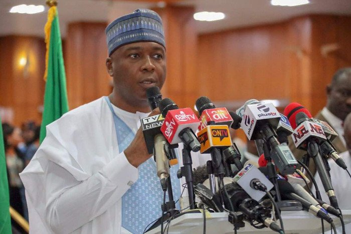 Nigeria's Senate President Bukola Saraki says his life is in danger