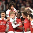Danny Welbeck scored twice as Arsenal beat Brentford in the #CarabaoCup