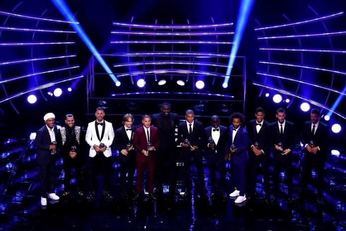 Cristiano Ronaldo and Lionel Messi were named in the FIFA XI