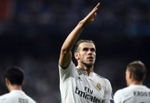 Gareth Bale against Arsenal but is unlikely to remain at Real Madrid