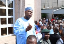 Speaker of House of Representatives, Honourable Yakubu Dogara