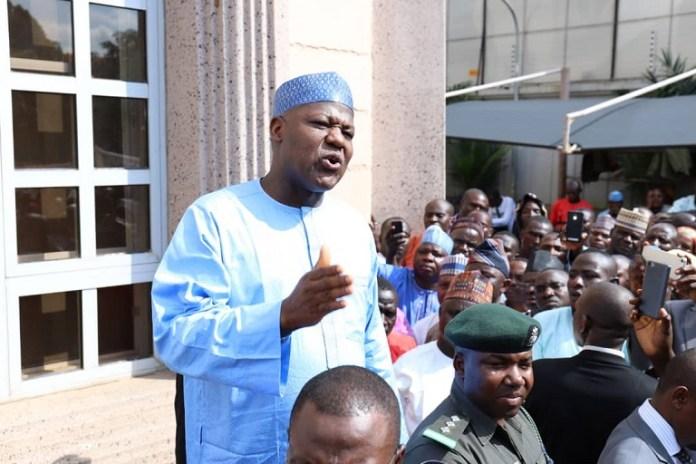 Speaker of House of Representatives, Honourable Yakubu Dogara