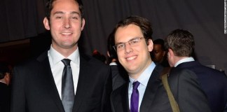 Kevin Systrom and Mike Krieger co-founded Instagram eight years ago then sold it to Facebook