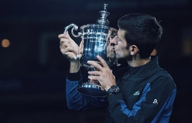 Novak Djokovic beat Juan Martin Del Potro to win the #USOpen and his 14th Grand Slam title