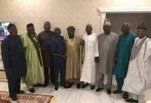 Senator Iyiola Omisore agreed a deal with APC led by national chairman Adams Oshiomhole ahead of Osun governorship rerun