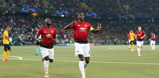 Paul Pogba scored twice as Manchester United beat Fulham 3-0
