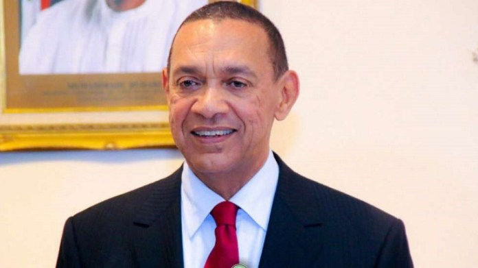 Senator Ben Murray-Bruce representing Bayelsa East in the 8th assembly