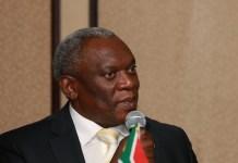 South Africa Telecommunications Minister Siyabonga Cwele