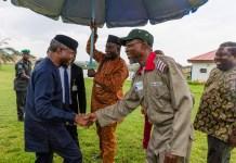 Vice President Yemi Osinbajo has inaugurated 20000 OYES cadets in Osun