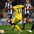 Willian scored Chelsea's only goal against PAOK in the seventh minute