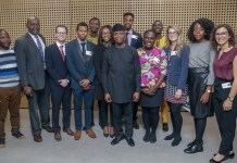 Vice President Yemi Osinbajo in Oxford University