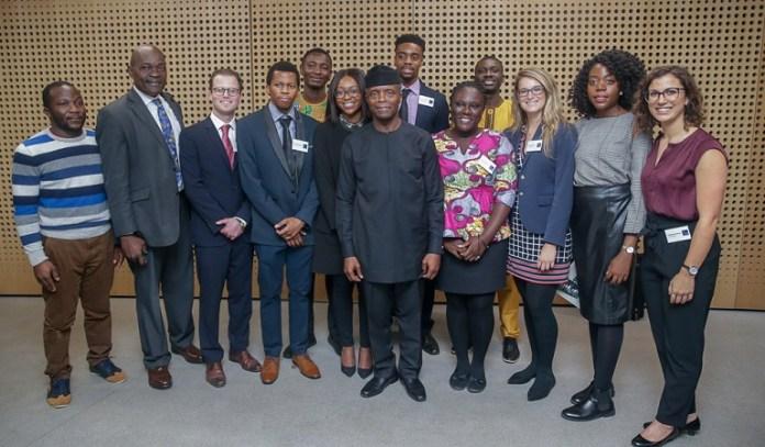 Vice President Yemi Osinbajo in Oxford University