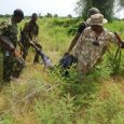 FILE: A Boko Haram terrorist killed by Nigerian troops retrieved from the bush