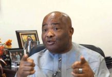 Governor Hope Uzodinma of Imo is a member of the APC