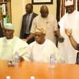 Atiku Abubakar and Chief Olusegun Obasanjo held a joint press conference in Abeokuta, Ogun state