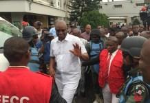 EFCC have sealed Ayodele Fayose's property in Ado-Ekiti