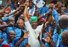 Governor Emeka Ihedioha (M) has restored salary of Imo workers