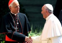 Pope Francis has praised Archbishop Donald Wuerl for his nobility
