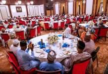 President Muhammadu Buhari hosted aggreived APC aspirants