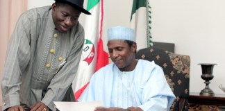 President Musa Yar'Adua died in his second year in office