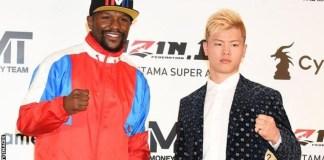 Floyd Mayweather will fight kickboxer Tenshin Nasukawa in Japan