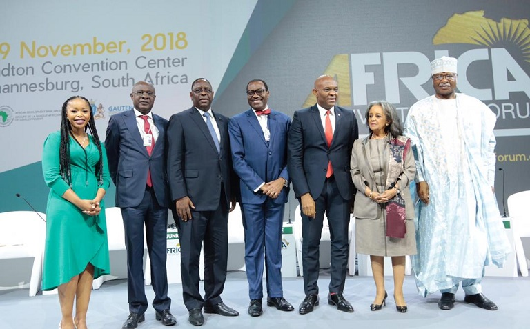 Tony Elumelu at the Africa Investment Forum urged African leaders to make policies that will attract private sector investments