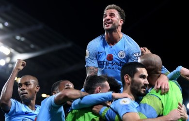 Manchester City beat Manchester United 3-1 at the Etihad Stadium