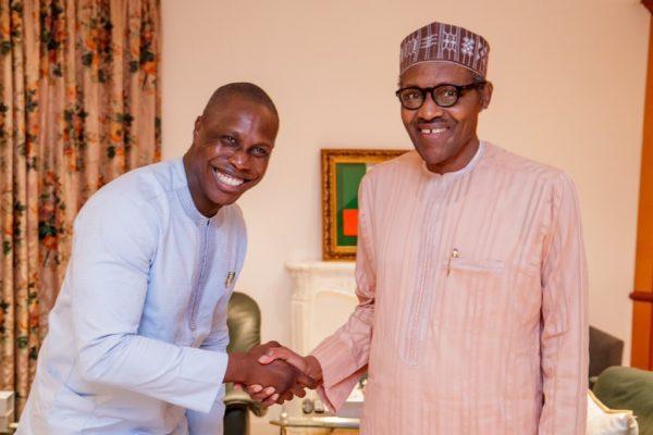 Olujonwo Obasanjo has pledged loyalty to President Muhammadu Buhari's re-election