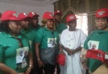 FILE PHOTO: The Atiku/Obi Presidential Movement has guaranteed Titi Abubakar of 10 million votes for her husband