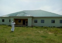 The healthcare facility sponsored by Senator Shehu Sani in Gadani, Rigachikun, Kaduna Central District is yet to be used