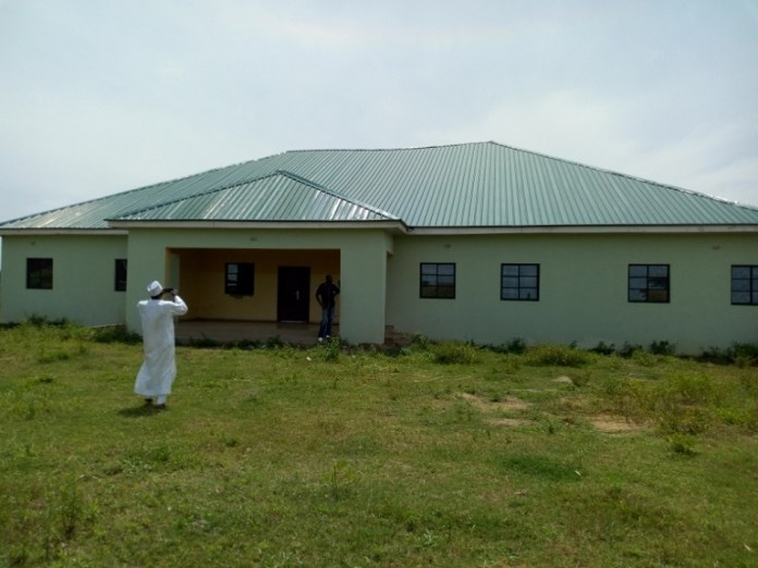 The healthcare facility sponsored by Senator Shehu Sani in Gadani, Rigachikun, Kaduna Central District is yet to be used