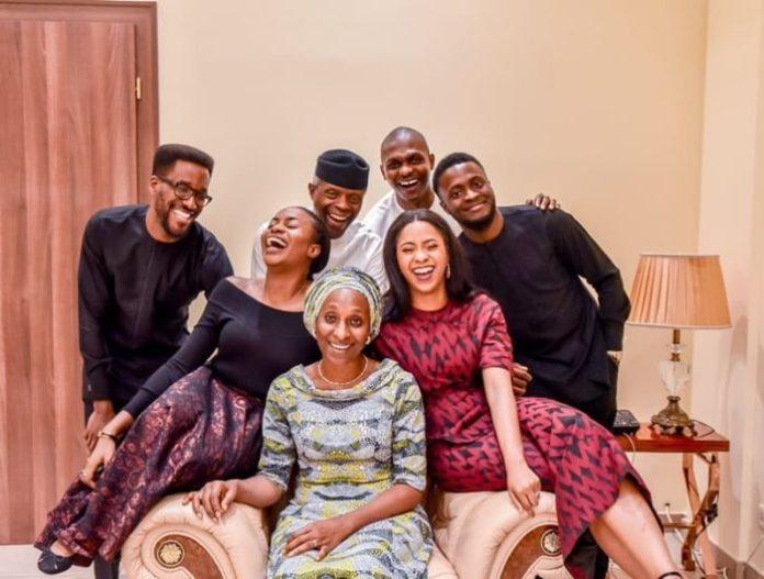 Vice President Yemi Osinbajo and Dolapo are celebrating their 29th wedding anniversary
