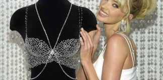 Victoria's Secret angel Elsa Hosk poses with the N360m Fantasy Bra