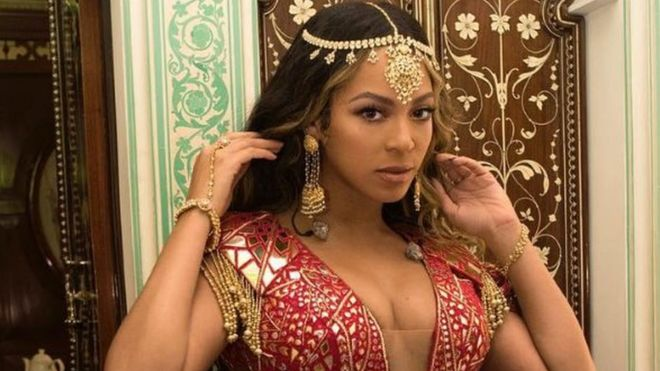 Beyonce slayed as she performed at a lavish Indian celebrity wedding black is king